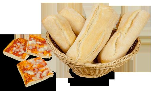 Pane, pizza e focaccia con Lievis+