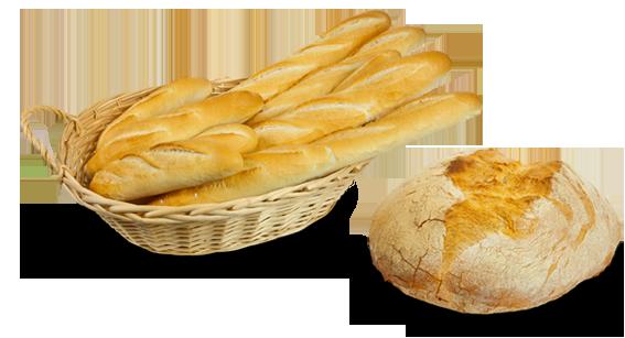 Pane Casereccio e Baguette con Panélite Standard