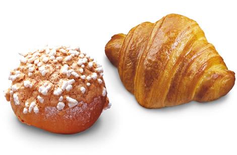 danesi e krapfen con Dolcélite Croissantoro