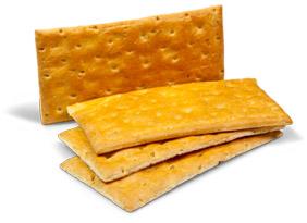 crackers ottenuti con Dolcélite Sfoglia 1000