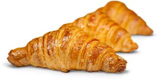 croissant ottenuti con Dolcélite Croissantoro